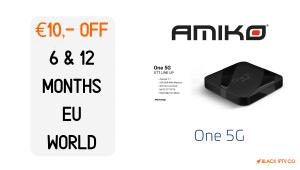 Amiko One 5G en weekendactie!