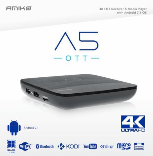 Amiko A5 OTT 4K